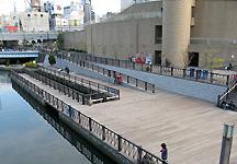 大阪「みなみ-道頓堀川」の水辺整備_c0167961_1551269.jpg