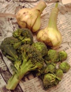 松本家の野菜でシチューを作りました。_f0143188_14234294.jpg