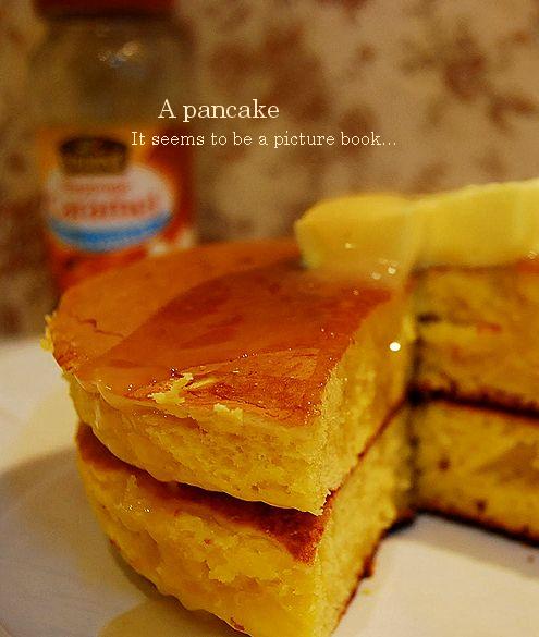 絵本のようなホットケーキ & チョコフォンデュ _a0105872_2159159.jpg