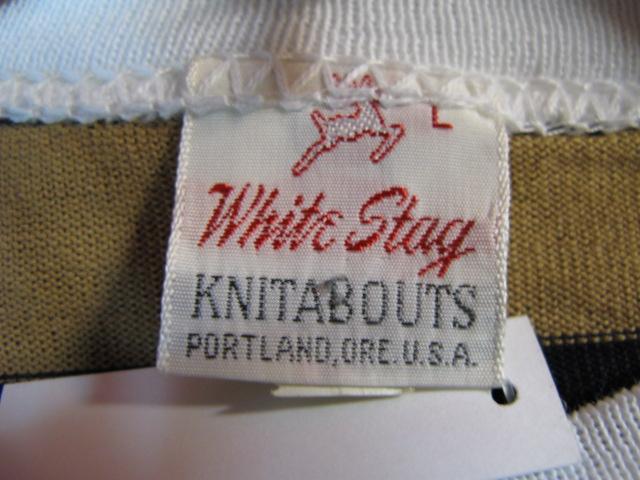 60\'S WHITE STAG Deadstock ロンT_c0144020_15423363.jpg
