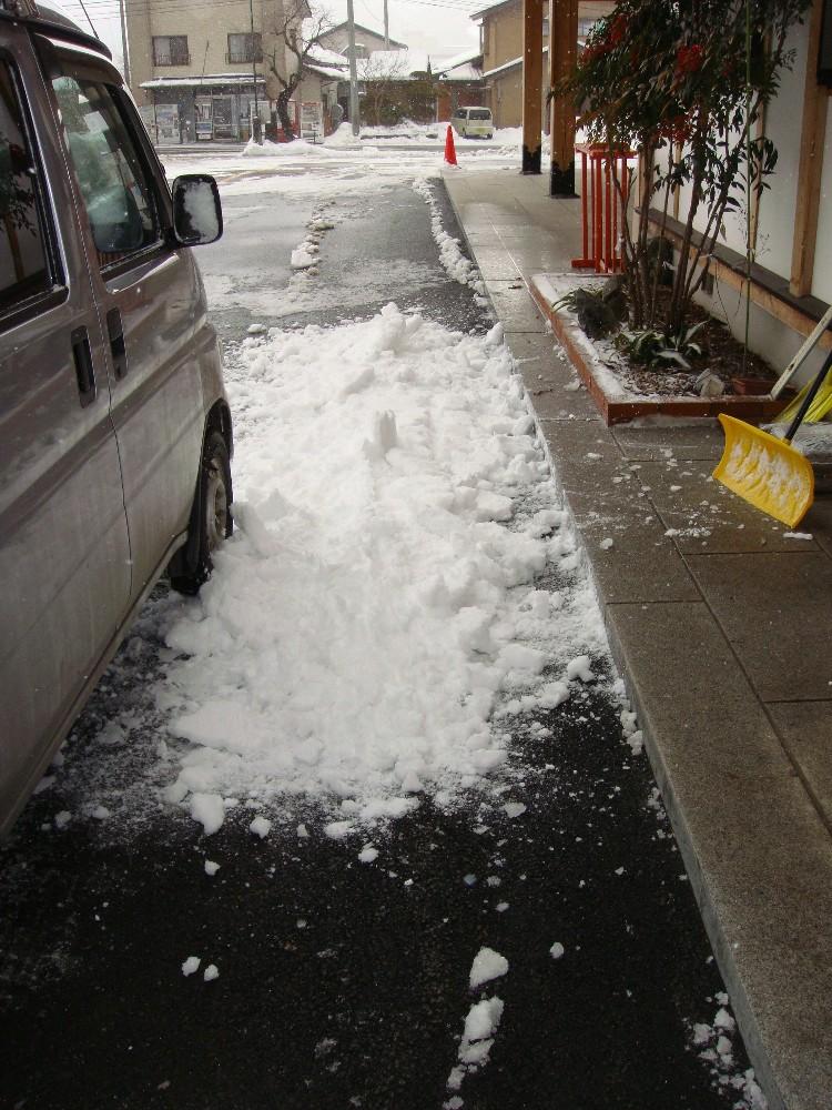 除雪作業_c0111229_19224552.jpg