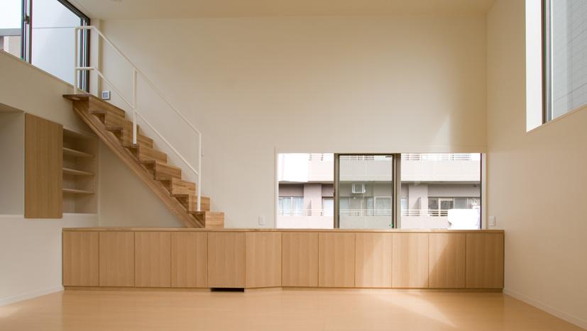 ライトコートの家 4 狭小住宅 建築家 シンプルなデザイン _e0127948_1102667.jpg