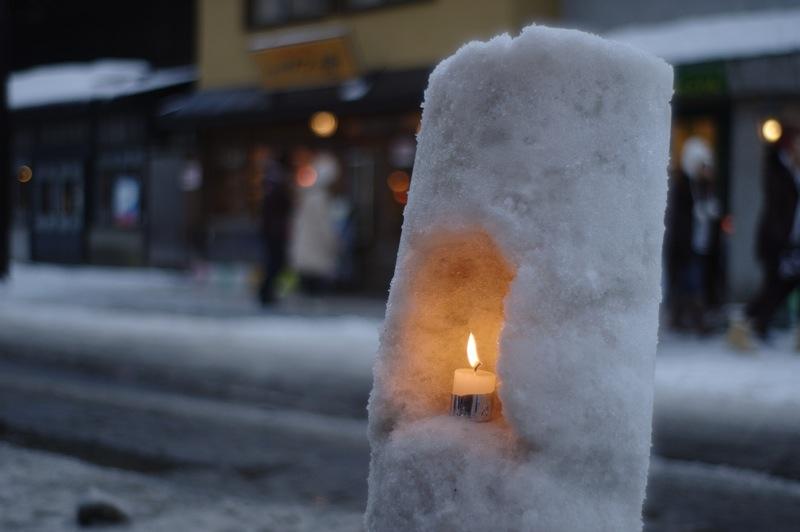 雪あかりの路_f0042194_0395215.jpg