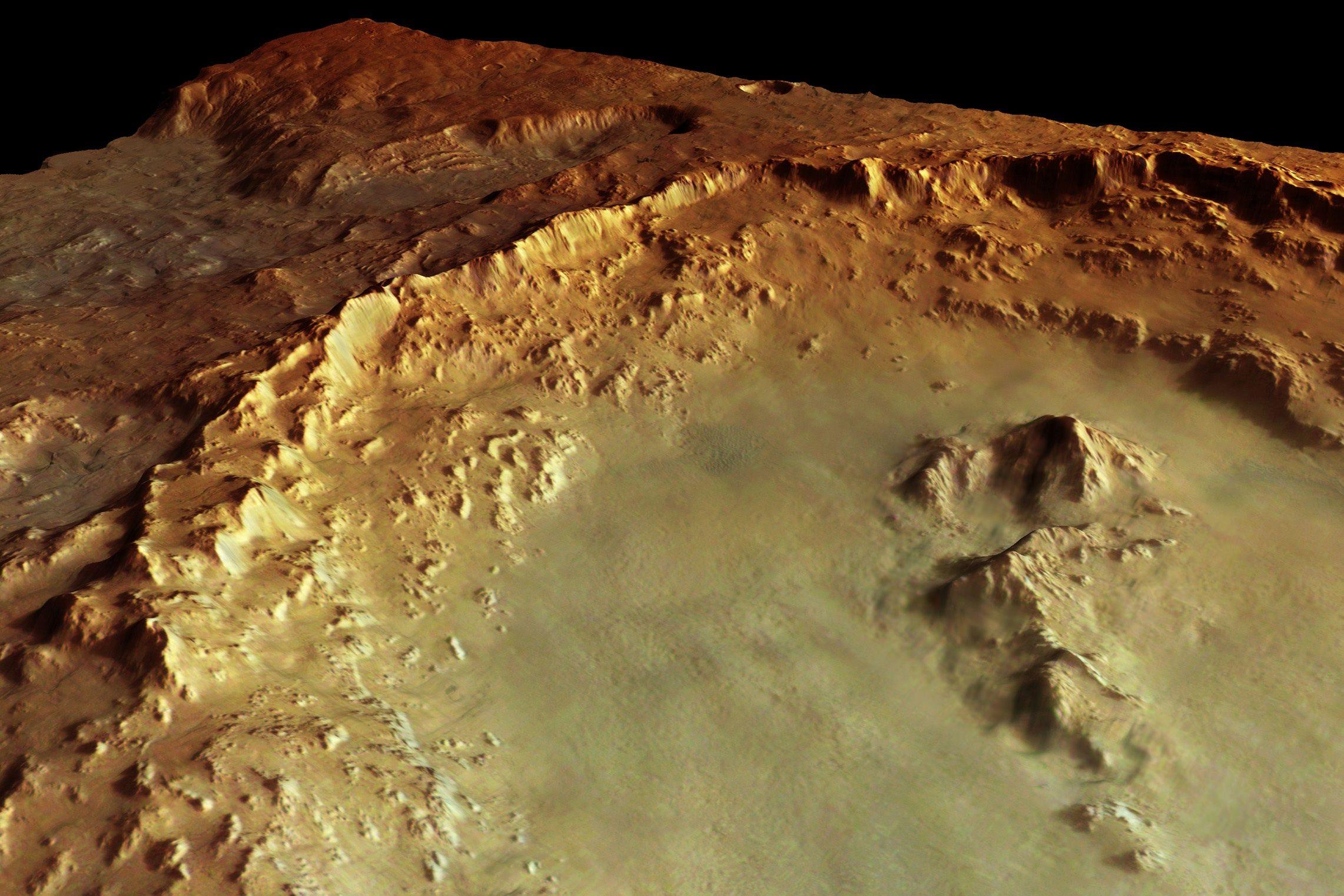 火星の「ヘールクレーターの謎」:無数の住居跡が存在か?_e0171614_14131873.jpg