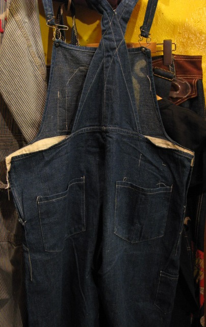 1910-20年代 BIB OVER ALL  BLUE DENIM_c0144020_1533433.jpg