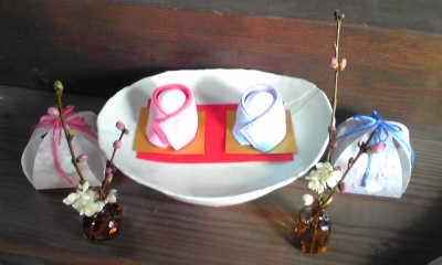ひな祭りの室礼教室_c0121339_8375592.jpg