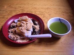 江戸からの和菓子(6) 船橋屋 くず餅_c0187004_19204749.jpg