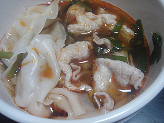 豚餃子鍋_c0025217_10442688.jpg