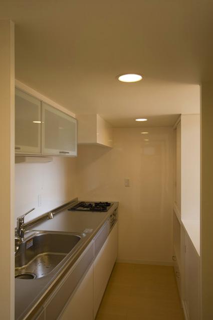 ライトコートの家 5 狭小住宅 建築家 シンプルなデザイン _e0127948_3161033.jpg
