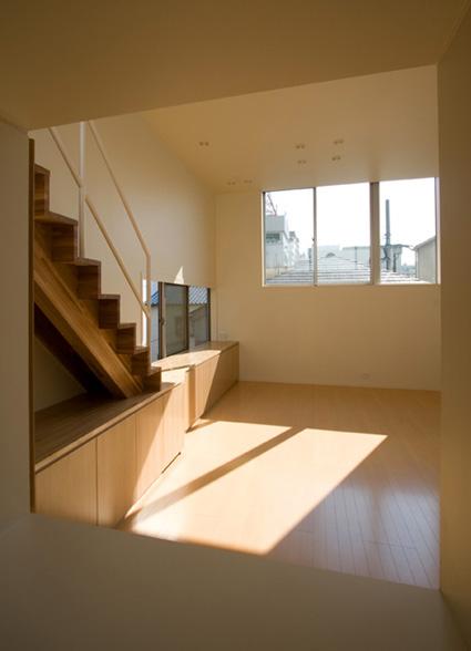 ライトコートの家 5 狭小住宅 建築家 シンプルなデザイン _e0127948_3162235.jpg