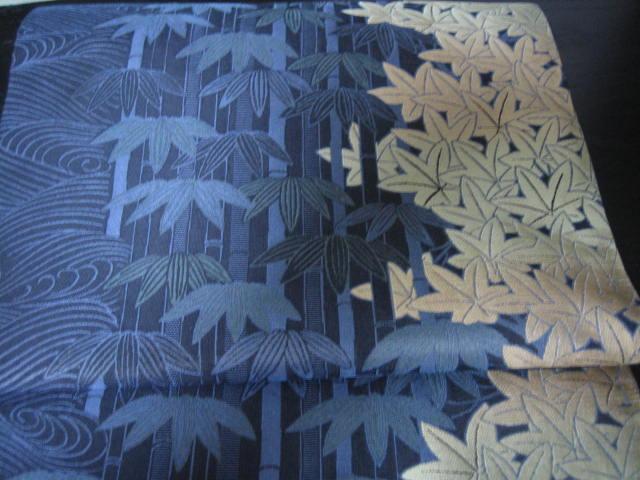 きものサロン掲載・織りにこだわった桜の帯。_f0181251_171074.jpg