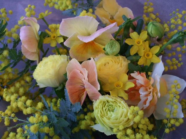 オークリーフ(お誕生日の花束)_f0049672_1727531.jpg