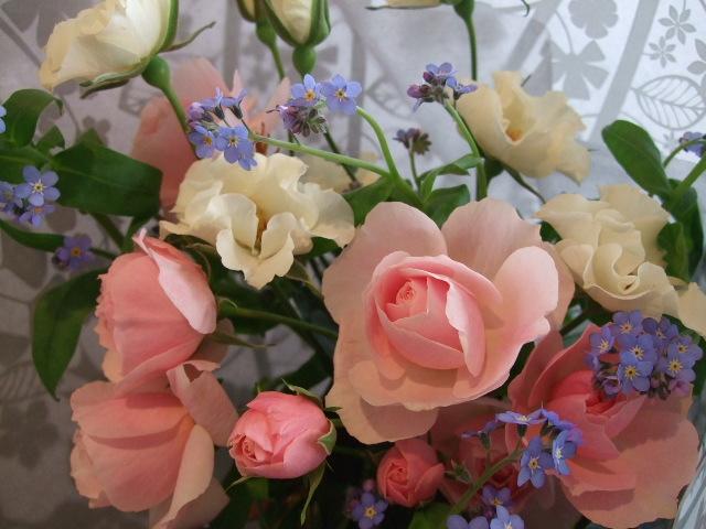オークリーフ(お誕生日の花束)_f0049672_1731218.jpg