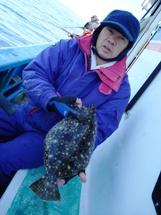 2009年2月18日 水曜日 午前ヒラメ船 午後イカ船 _f0031613_21381363.jpg