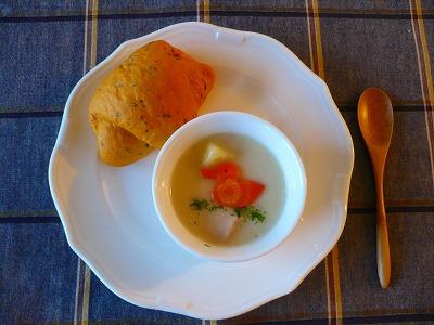ヨーグルトパンとバジルのパン_e0160528_142846.jpg