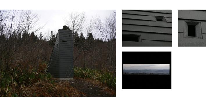 【制作活動】 絵画のための見晴らし小屋 窓部修復完了_b0143239_16575186.jpg