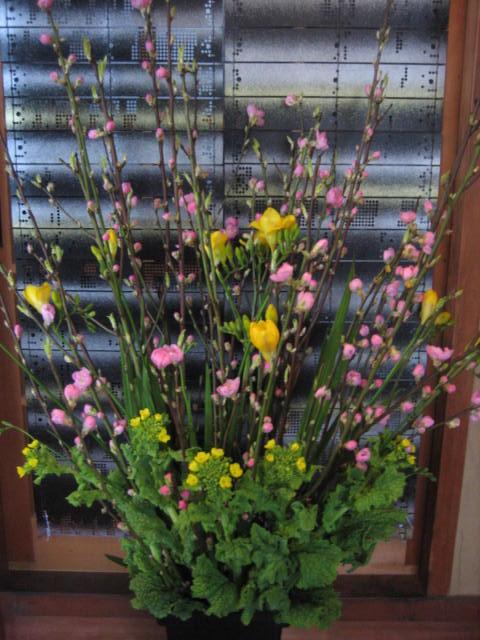 春の綺麗な花束。_f0181251_1636388.jpg