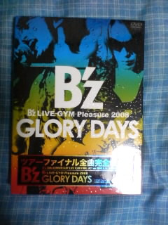 B\'z  DVD Pleasure 20009 GRORY DAYS_d0144184_23201213.jpg