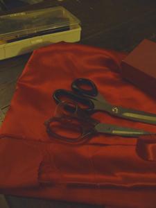 毎年恒例!カーニバルの衣装作り_f0106597_1712126.jpg