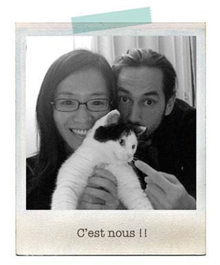 「帽子をかぶった猫のいる暮らしの話し。」のpetites_nouillesさん登場! _c0039735_1024831.jpg