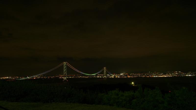 淡路島帰り道 明石海峡大橋を望む_c0187587_2223812.jpg