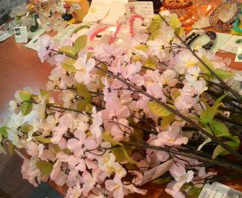 桜をディスプレイ♪_c0140599_10435027.jpg