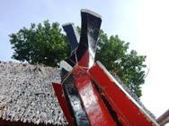 伝統カヌーもヤップデイの準備_a0043520_2082012.jpg