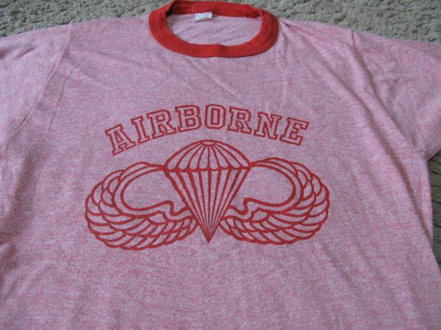 2月28日(土)入荷商品!AIRBORNE Tシャツ_c0144020_13225537.jpg