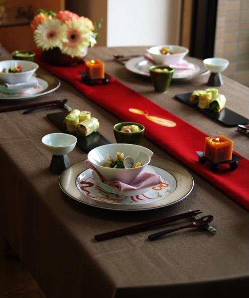 ひな祭りのテーブルコーディネート _d0145934_2033997.jpg