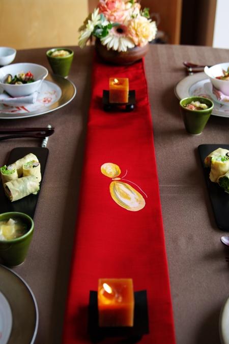 ひな祭りのテーブルコーディネート _d0145934_2035985.jpg
