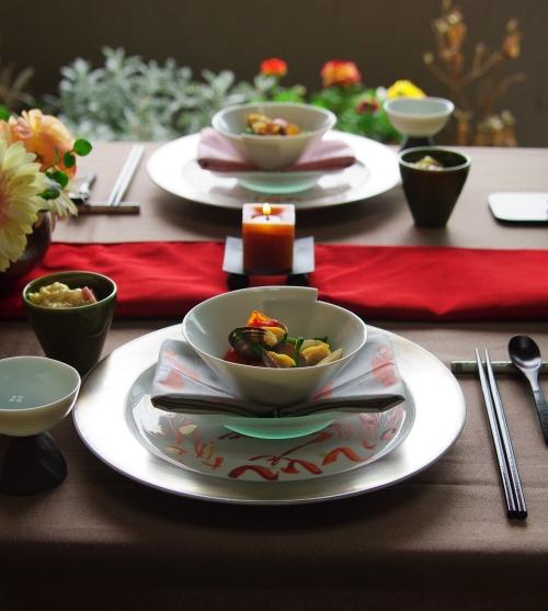 ひな祭りのテーブルコーディネート _d0145934_2041591.jpg