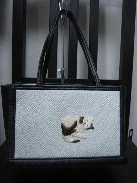 猫の草履とバッグ。_f0181251_16353142.jpg