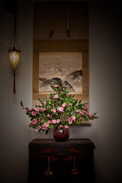 庭の花をを飾った。_f0077521_2385043.jpg
