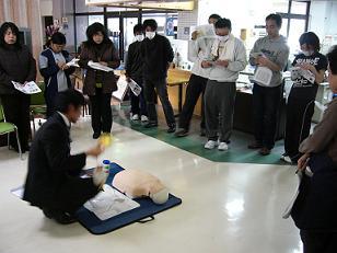 AED職員研修。_e0164724_056109.jpg