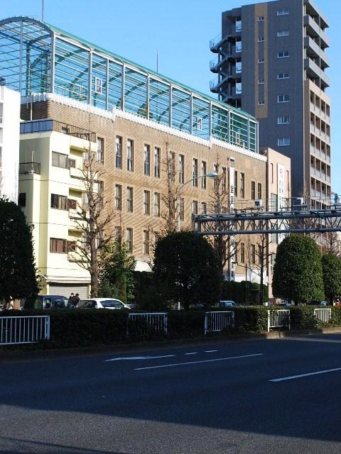 東京・京華女子中学高等学校(木田保造施工作品探訪)_f0142606_15393029.jpg