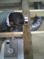 住宅地でのCozyUpHom造作工事・24時間換気設備工事2_d0059949_15355627.jpg