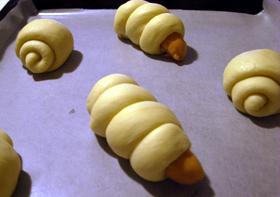 惣菜パンとバターロール(酒粕酵母)_c0110869_21453536.jpg