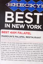 NY No.1のファラフェル屋さん、Mamoun\'s Falafel_b0007805_004959.jpg