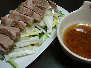 ローストポークと肉味噌スープ_c0025217_17173940.jpg