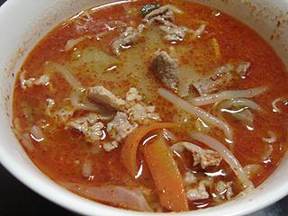 ローストポークと肉味噌スープ_c0025217_17182069.jpg