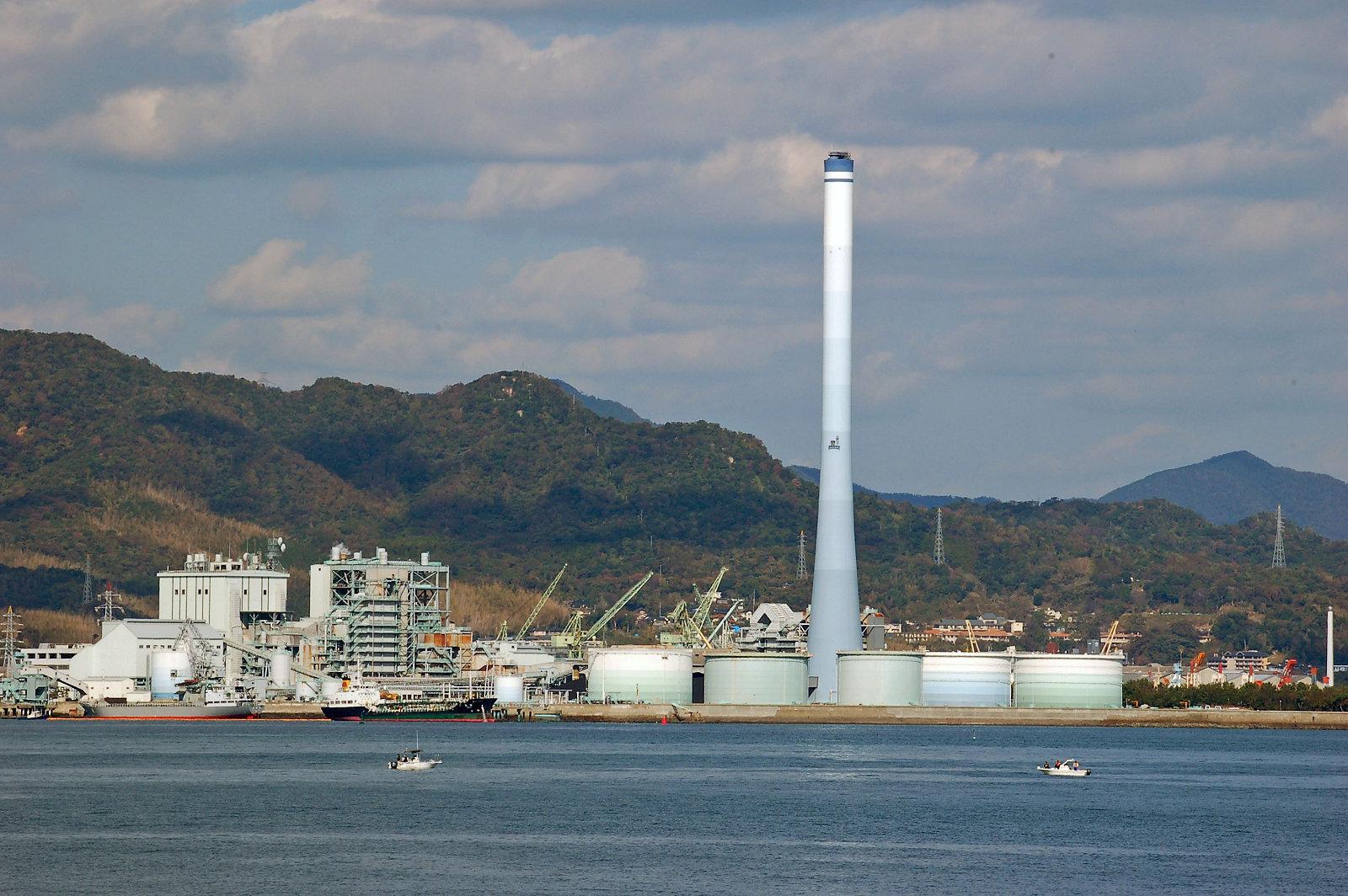 Tags:# 下関火力発電所
