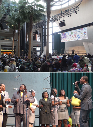 ニューヨークのゴスペル聖歌隊大会 Pathmark Gospel Choir Competitions 2009_b0007805_2214537.jpg