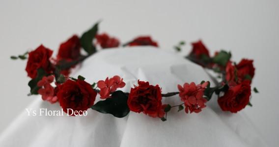 花冠とリストレット プリザーブドフラワー_b0113510_2342158.jpg