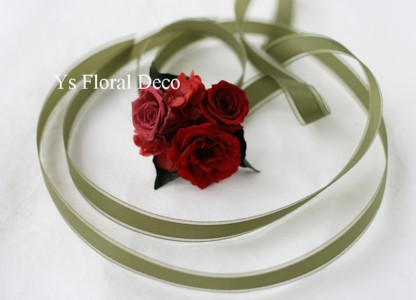 花冠とリストレット プリザーブドフラワー_b0113510_23422268.jpg