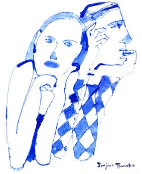 「ブルーのインクに魅せられて・・」3_c0186612_1502885.jpg