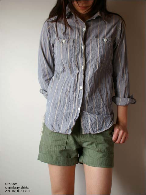 orslow [オアスロウ]  chambray shirts [シャンブレーシャツ] _f0051306_22111718.jpg