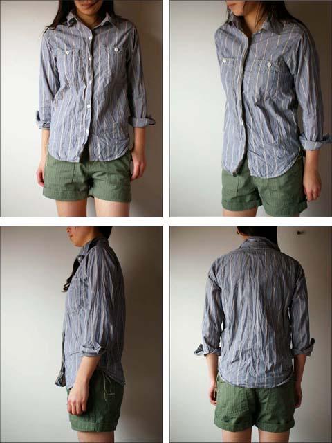 orslow [オアスロウ]  chambray shirts [シャンブレーシャツ] _f0051306_22111920.jpg