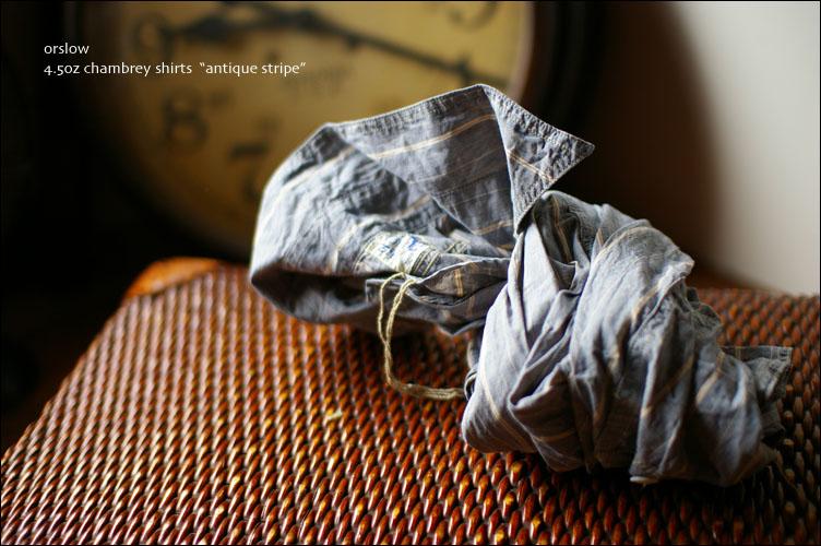 orslow [オアスロウ]  chambray shirts [シャンブレーシャツ] _f0051306_221633.jpg