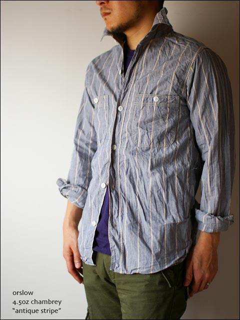 orslow [オアスロウ]  chambray shirts [シャンブレーシャツ] _f0051306_2224270.jpg