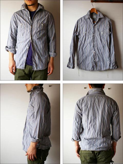 orslow [オアスロウ]  chambray shirts [シャンブレーシャツ] _f0051306_2225895.jpg